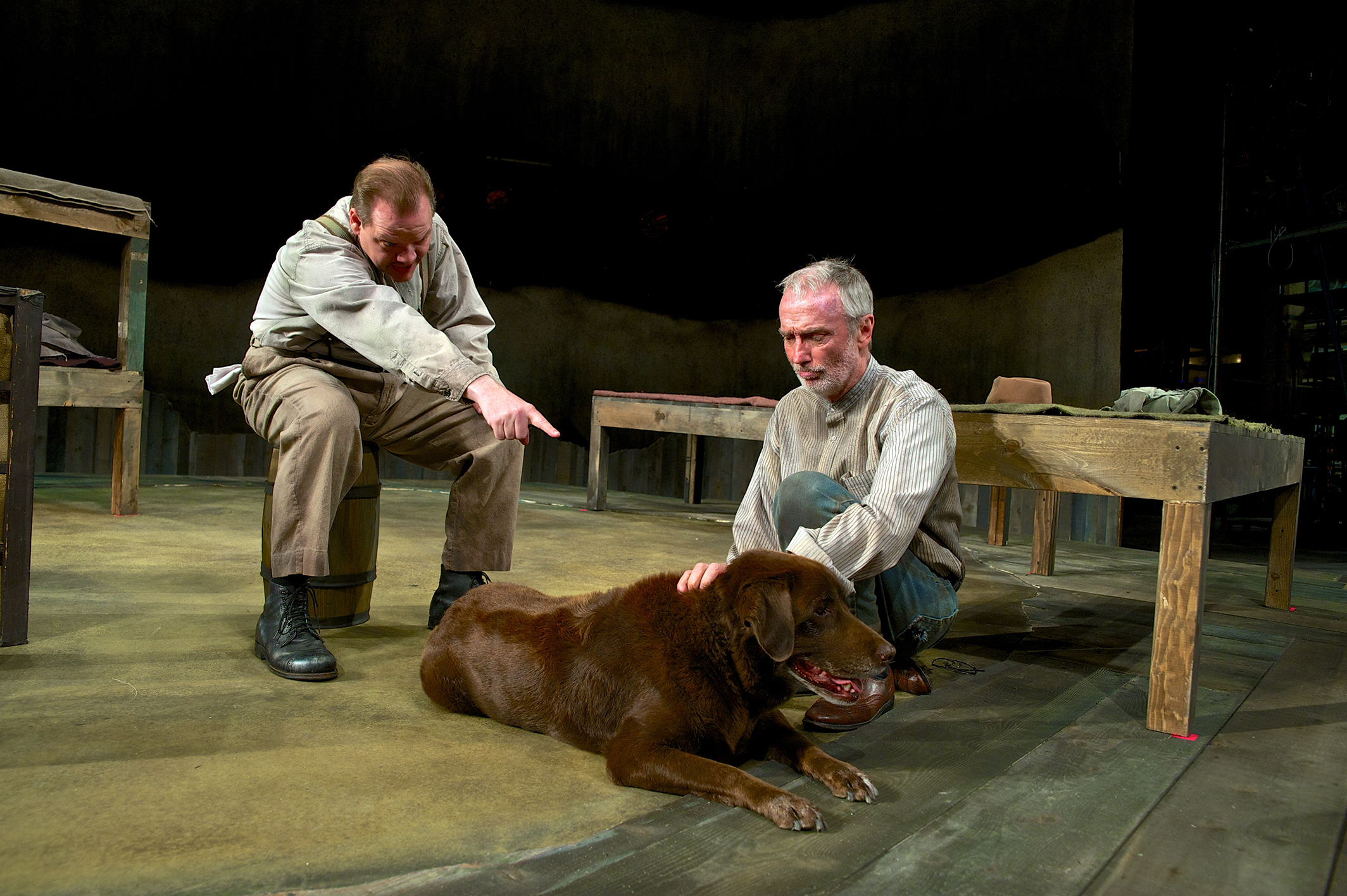 Media Photos for Of Mice and Men | Pioneer Theatre Company