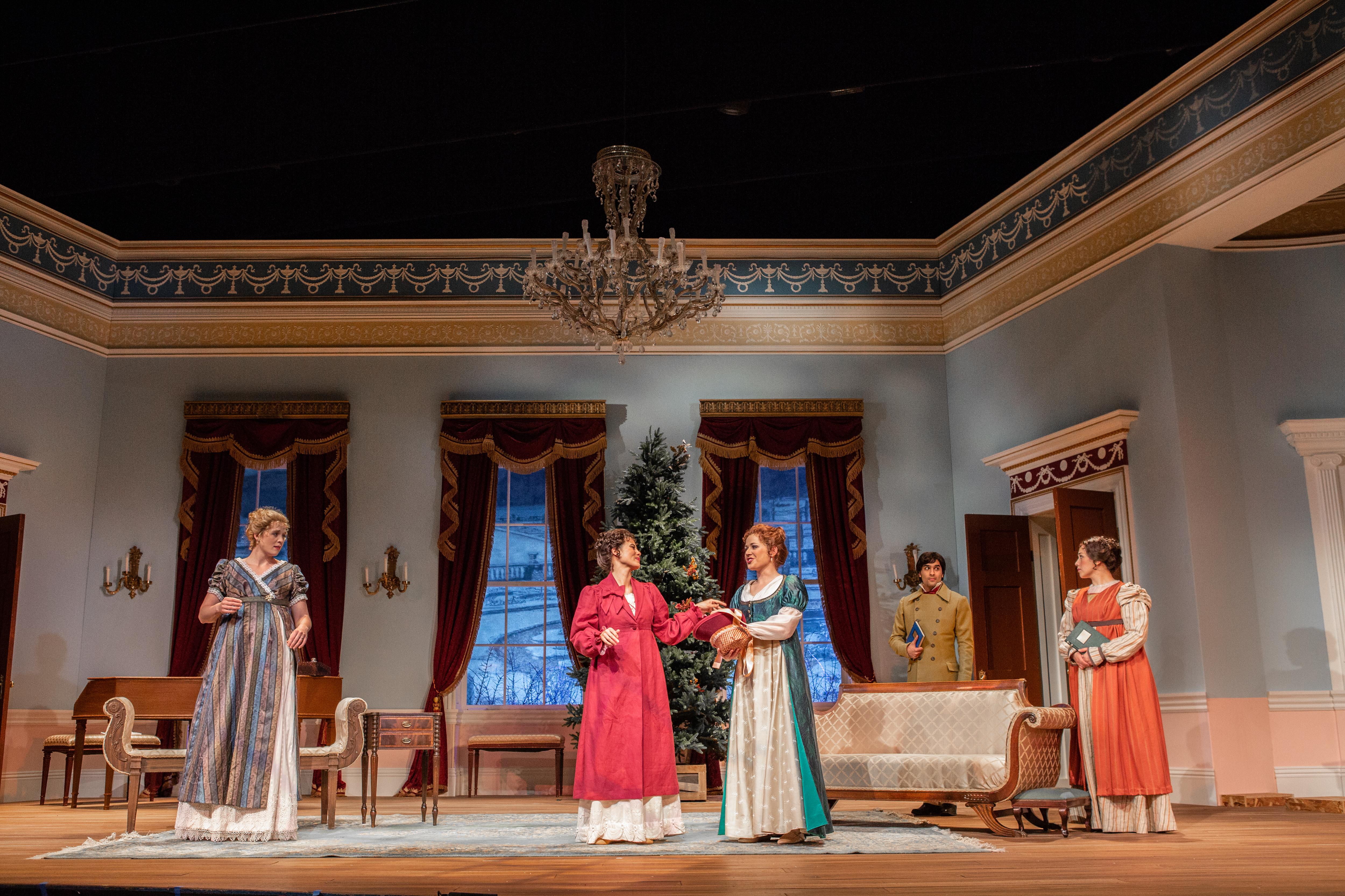 Miss Bennet Christmas At Pemberley.Miss Bennet Christmas At Pemberley On Stage Photos
